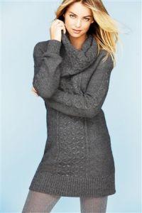 Alpaca Mix Stitch Dress