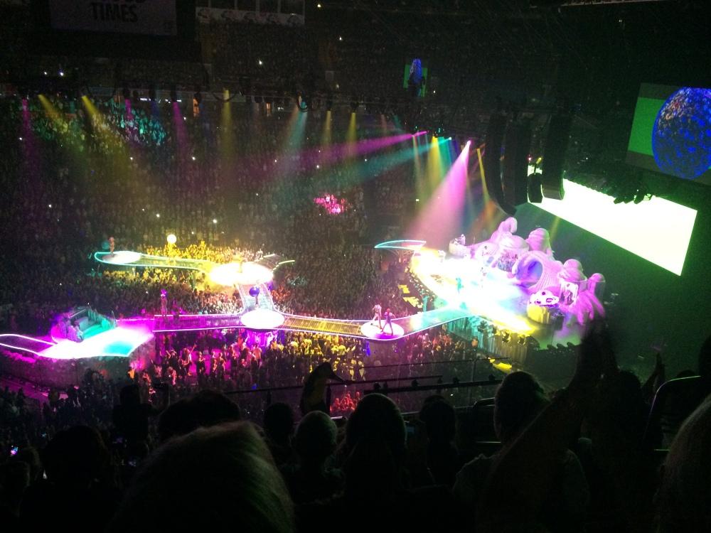 Lady Gaga at Manchester October 2014