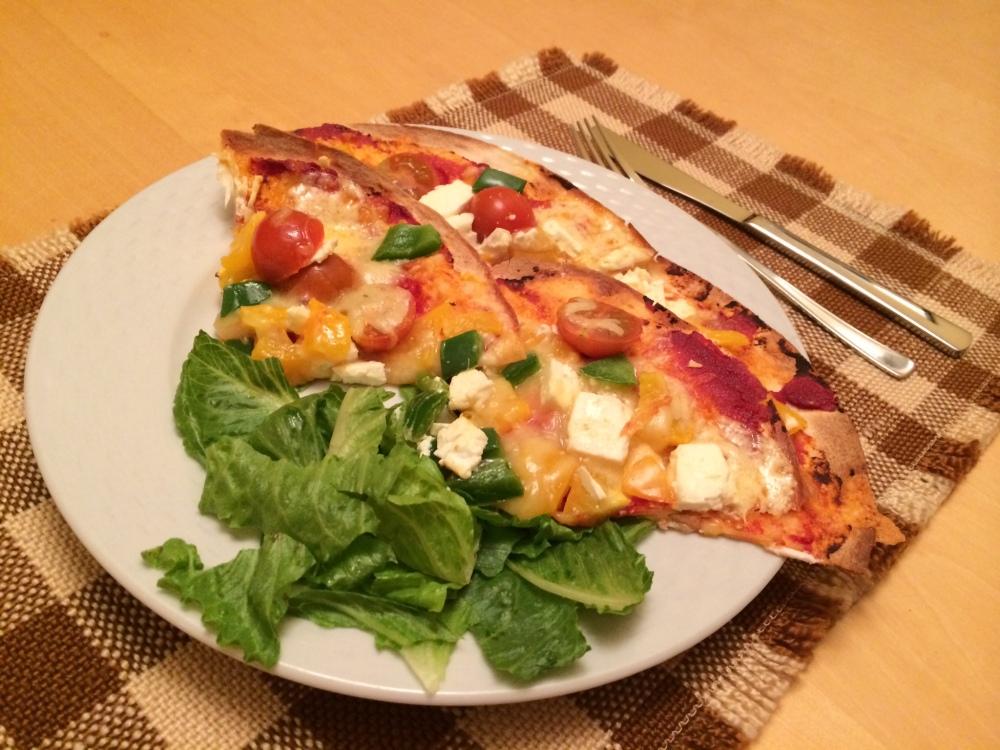 Homemade Tortilla Pizza