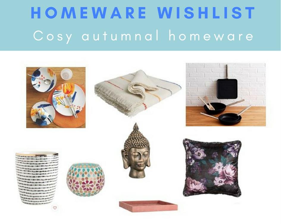 Ruth Writes Autumn Winter Homeware Wishlist